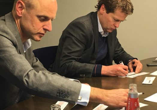 """The Blockchain Simulation – """"Lunch & Learn"""" For Lawyers & Notaries in Utrecht"""